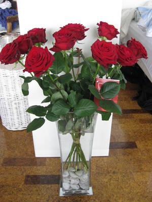 roser i vase